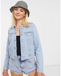 Miss Selfridge Denim Jacket - Blue