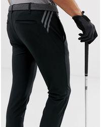 adidas Originals Черные Суженные Книзу Брюки С 3 Полосами Ultimate-черный