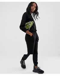 ASOS Asos Design Tall Tracksuit Ultimate Sweat / jogger With Tie - Black