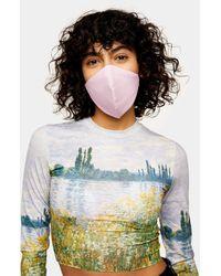TOPSHOP Masque en tissu - Rose
