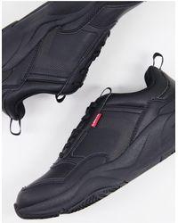 Levi's Черные Кроссовки На Массивной Подошве Eastman-черный Цвет