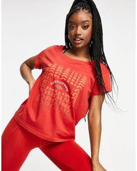 Reebok Fef Easy T-shirt - Red