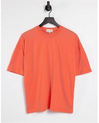 In The Style Oversized T-shirt - Orange