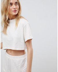 ASOS Mix & Match - T-shirt - Neutre