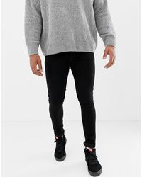 Only & Sons Superskinny Jeans - Zwart