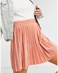 ASOS Minifalda rosa rubor - Multicolor