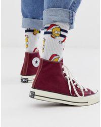 ASOS Calcetines navideños con diseño de Bart - Multicolor