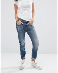 G-Star RAW Arc 3d Low Rise Boyfriend Jeans - Blue