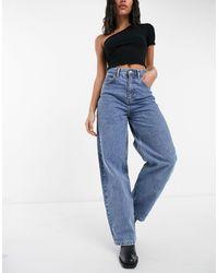 TOPSHOP Baggy Jeans - Blauw