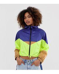 Collusion Light Weight Colour Block Tech Jacket - Multicolour