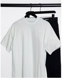 Pull&Bear Oversized T-shirt - Blue