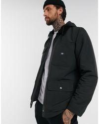 Vans Черная Куртка -черный