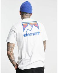 Element Joint Back Print T-shirt - White