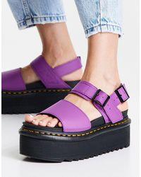 Dr. Martens Voss Quad Sandals - Purple