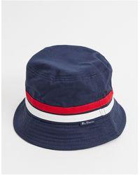 Ben Sherman Bucket Hat - Blue