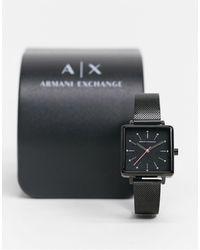 Armani Exchange Квадратные Часы Lola Ax5805-черный