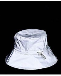 ASOS Cappello da pescatore in tessuto catarifrangente - Metallizzato