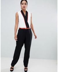 Forever Unique - Tailored Jumpsuit - Lyst