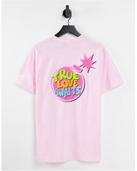 The Hundreds Love Awaits T-shirt - Pink