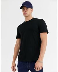 New Look T-shirt With Crew Neck - Black