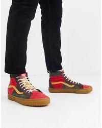 Vans Sk8-hi 46 Mte Dx - Sneakers - Rood