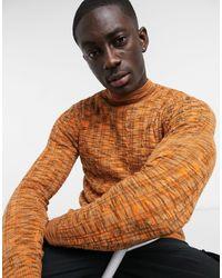 ASOS Jersey ajustado - Naranja