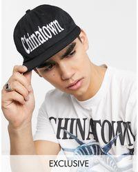 Chinatown Market - Черная Бейсболка С Логотипом -черный - Lyst