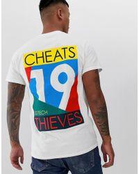 Cheats & Thieves - 19 Back Print T-shirt - Lyst