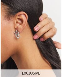 True Decadence Exclusive Stud Earrings - Metallic