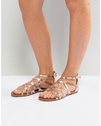 Madden Girl Arrchie Flat Sandal - Multicolour