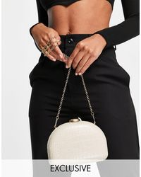 True Decadence Exclusive Cross Body Bag - White