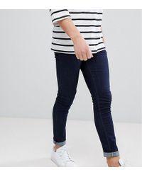 Noak Noak Super Skinny Jeans In Raw Blue