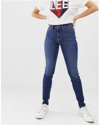Lee Jeans Lee Scarlett High Rise Skinny Jeans - Blue