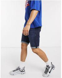 Esprit Slim Denim Short - Blue