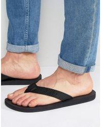 Abercrombie & Fitch Flip Flops - Blue