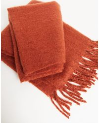 ASOS Blanket Scarf - Red