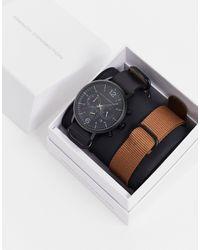 French Connection Digitaal Horloge - Zwart
