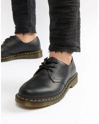 Dr. Martens Черные Туфли С 3 Парами Люверсов Original 11838002-черный
