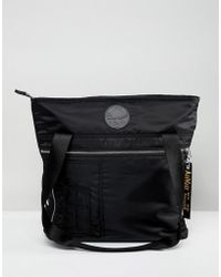 Dr. Martens Black Flight Tote Backpack