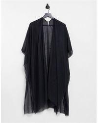 Vero Moda Caftano da mare nero