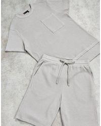 ASOS Серый Пижамный Комплект - Многоцветный