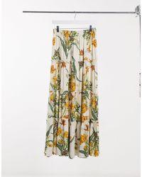 Object Jamy Co-ord Maxi Skirt - Multicolour