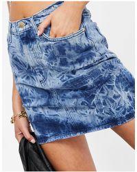 Ivyrevel Ivy Revel Denim Mini Skirt - Blue