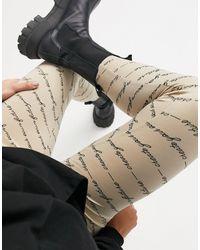 Vila - leggings - Lyst