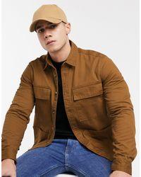 Burton Overshirt - Brown