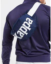 Kappa Authentic Cabala - Sac banane avec grand logo - Bleu marine
