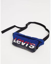 Levi's Retro Bum Bag - Blue