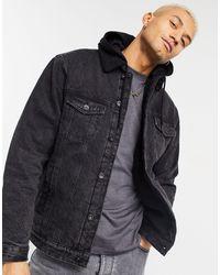 Pull&Bear Denim Jacket - Grey