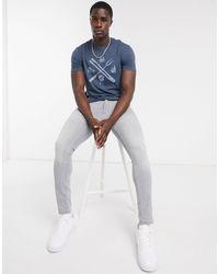 J.Crew Bbq Tools T-shirt - Blue