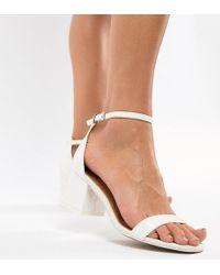ASOS - Honeydew Block Heeled Sandals - Lyst